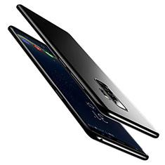 Silikon Hülle Handyhülle Ultra Dünn Schutzhülle S02 für Samsung Galaxy S9 Plus Schwarz