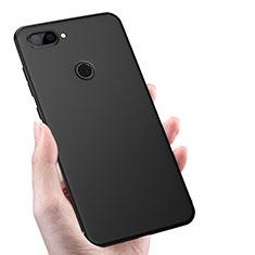 Silikon Hülle Handyhülle Ultra Dünn Schutzhülle S02 für Xiaomi Mi 8 Lite Schwarz