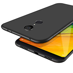Silikon Hülle Handyhülle Ultra Dünn Schutzhülle S02 für Xiaomi Redmi 5 Schwarz