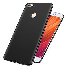 Silikon Hülle Handyhülle Ultra Dünn Schutzhülle S02 für Xiaomi Redmi Note 5A Prime Schwarz