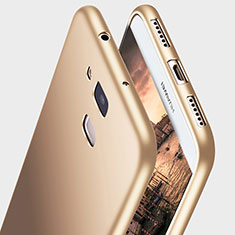 Silikon Hülle Handyhülle Ultra Dünn Schutzhülle S03 für Huawei G7 Plus Gold