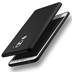 Silikon Hülle Handyhülle Ultra Dünn Schutzhülle S03 für Huawei Honor 6X Schwarz