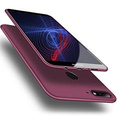 Silikon Hülle Handyhülle Ultra Dünn Schutzhülle S03 für Huawei Honor 7C Violett