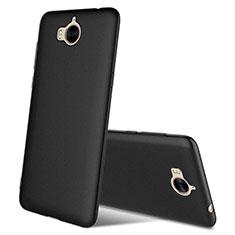 Silikon Hülle Handyhülle Ultra Dünn Schutzhülle S03 für Huawei Nova Young Schwarz