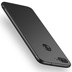 Silikon Hülle Handyhülle Ultra Dünn Schutzhülle S03 für Huawei P Smart Schwarz