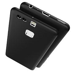 Silikon Hülle Handyhülle Ultra Dünn Schutzhülle S03 für Huawei P9 Schwarz