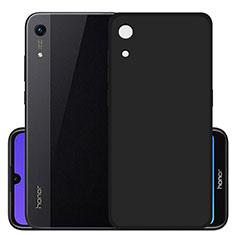 Silikon Hülle Handyhülle Ultra Dünn Schutzhülle S03 für Huawei Y6 (2019) Schwarz