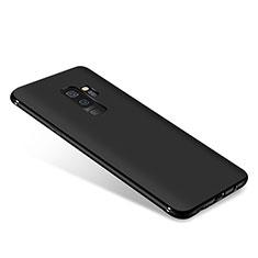 Silikon Hülle Handyhülle Ultra Dünn Schutzhülle S03 für Samsung Galaxy A6 Plus (2018) Schwarz
