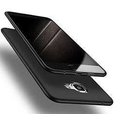 Silikon Hülle Handyhülle Ultra Dünn Schutzhülle S03 für Samsung Galaxy A9 (2016) A9000 Schwarz