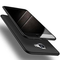 Silikon Hülle Handyhülle Ultra Dünn Schutzhülle S03 für Samsung Galaxy A9 Pro (2016) SM-A9100 Schwarz