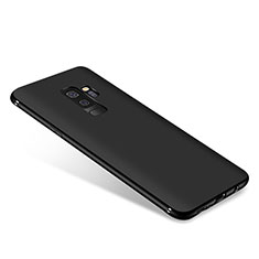 Silikon Hülle Handyhülle Ultra Dünn Schutzhülle S03 für Samsung Galaxy A9 Star Lite Schwarz
