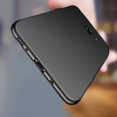 Silikon Hülle Handyhülle Ultra Dünn Schutzhülle S03 für Samsung Galaxy C7 Pro C7010 Schwarz