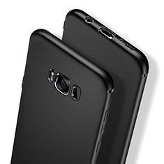 Silikon Hülle Handyhülle Ultra Dünn Schutzhülle S03 für Samsung Galaxy S8 Schwarz