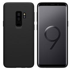 Silikon Hülle Handyhülle Ultra Dünn Schutzhülle S03 für Samsung Galaxy S9 Plus Schwarz