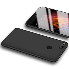 Silikon Hülle Handyhülle Ultra Dünn Schutzhülle S03 für Xiaomi Mi A1 Schwarz