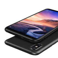 Silikon Hülle Handyhülle Ultra Dünn Schutzhülle S03 für Xiaomi Mi Max 3 Schwarz