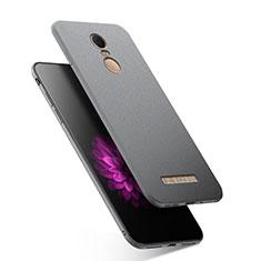 Silikon Hülle Handyhülle Ultra Dünn Schutzhülle S03 für Xiaomi Redmi Note 3 Grau