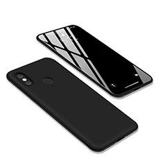 Silikon Hülle Handyhülle Ultra Dünn Schutzhülle S03 für Xiaomi Redmi S2 Schwarz