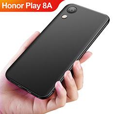 Silikon Hülle Handyhülle Ultra Dünn Schutzhülle S04 für Huawei Honor Play 8A Schwarz