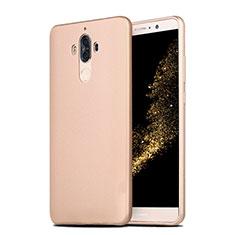 Silikon Hülle Handyhülle Ultra Dünn Schutzhülle S04 für Huawei Mate 9 Gold