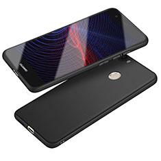 Silikon Hülle Handyhülle Ultra Dünn Schutzhülle S04 für Huawei Nova Schwarz