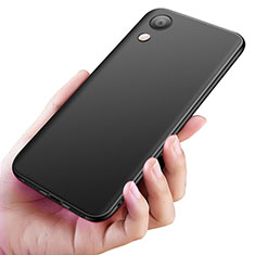 Silikon Hülle Handyhülle Ultra Dünn Schutzhülle S04 für Huawei Y6 (2019) Schwarz