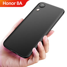Silikon Hülle Handyhülle Ultra Dünn Schutzhülle S04 für Huawei Y6 Prime (2019) Schwarz