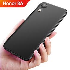 Silikon Hülle Handyhülle Ultra Dünn Schutzhülle S04 für Huawei Y6 Pro (2019) Schwarz
