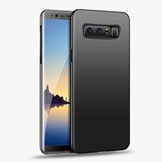 Silikon Hülle Handyhülle Ultra Dünn Schutzhülle S04 für Samsung Galaxy Note 8 Duos N950F Schwarz
