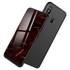 Silikon Hülle Handyhülle Ultra Dünn Schutzhülle S04 für Xiaomi Redmi Note 5 AI Dual Camera Schwarz