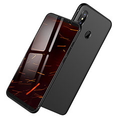 Silikon Hülle Handyhülle Ultra Dünn Schutzhülle S04 für Xiaomi Redmi Note 5 Schwarz