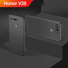 Silikon Hülle Handyhülle Ultra Dünn Schutzhülle S05 für Huawei Honor V20 Schwarz