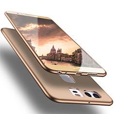 Silikon Hülle Handyhülle Ultra Dünn Schutzhülle S05 für Huawei P9 Plus Gold