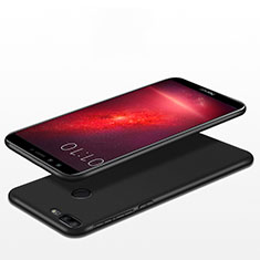 Silikon Hülle Handyhülle Ultra Dünn Schutzhülle S06 für Huawei Honor 9 Lite Schwarz