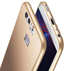 Silikon Hülle Handyhülle Ultra Dünn Schutzhülle S06 für Huawei P9 Gold