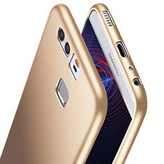 Silikon Hülle Handyhülle Ultra Dünn Schutzhülle S06 für Huawei P9 Plus Gold