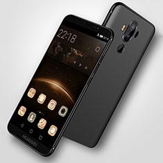 Silikon Hülle Handyhülle Ultra Dünn Schutzhülle S07 für Huawei Mate 9 Schwarz