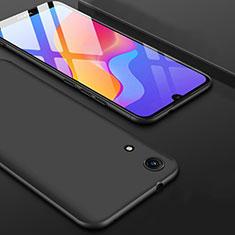 Silikon Hülle Handyhülle Ultra Dünn Schutzhülle S08 für Huawei Y6 (2019) Schwarz