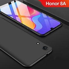 Silikon Hülle Handyhülle Ultra Dünn Schutzhülle S08 für Huawei Y6 Pro (2019) Schwarz