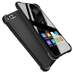 Silikon Hülle Handyhülle Ultra Dünn Schutzhülle S08 für Xiaomi Mi 6 Schwarz