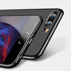 Silikon Hülle Handyhülle Ultra Dünn Schutzhülle S09 für Huawei P10 Schwarz