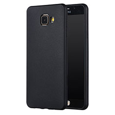 Silikon Hülle Handyhülle Ultra Dünn Schutzhülle Silikon für Samsung Galaxy A5 (2017) SM-A520F Schwarz