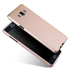 Silikon Hülle Handyhülle Ultra Dünn Schutzhülle Silikon für Samsung Galaxy A7 SM-A700 Gold