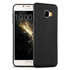 Silikon Hülle Handyhülle Ultra Dünn Schutzhülle Silikon für Samsung Galaxy C7 SM-C7000 Schwarz