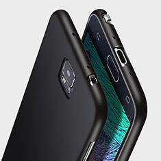 Silikon Hülle Handyhülle Ultra Dünn Schutzhülle Silikon für Samsung Galaxy Note 4 SM-N910F Schwarz