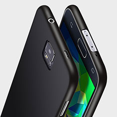 Silikon Hülle Handyhülle Ultra Dünn Schutzhülle Silikon für Samsung Galaxy S5 G900F G903F Schwarz