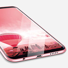 Silikon Hülle Handyhülle Ultra Dünn Schutzhülle Silikon für Samsung Galaxy S8 Plus Rosa