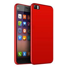 Silikon Hülle Handyhülle Ultra Dünn Schutzhülle Silikon für Xiaomi Mi 3 Rot
