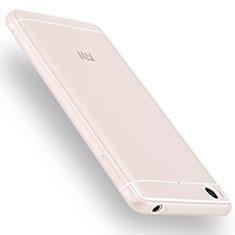 Silikon Hülle Handyhülle Ultra Dünn Schutzhülle Silikon für Xiaomi Mi 5S Weiß