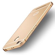 Silikon Hülle Handyhülle Ultra Dünn Schutzhülle Silikon für Xiaomi Redmi 3X Gold